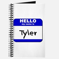 hello my name is tyler Journal