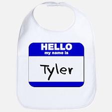 hello my name is tyler  Bib