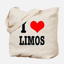 I Heart (Love) Limos Tote Bag