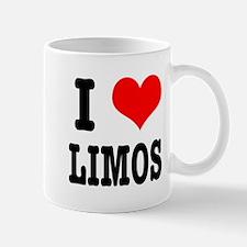 I Heart (Love) Limos Mug