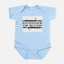 Bassooner the Better (h) Infant Bodysuit