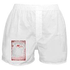 Kettlebell Vitruvian Man - for dark g Boxer Shorts