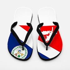Dive Belize Flip Flops