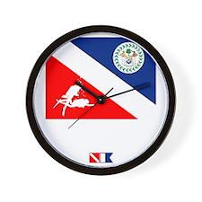 Dive Belize Wall Clock