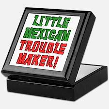 Little Mexican Trouble Maker Keepsake Box