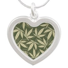 blanket35 Silver Heart Necklace