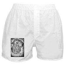 Kettlebell Vitruvian Man Boxer Shorts