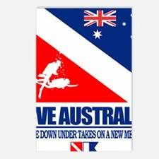 Dive Australia 2 Postcards (Package of 8)
