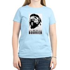 Obey the Bouvier! Pink T-Shirt