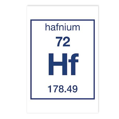 Hafnium Postcards (Package of 8)