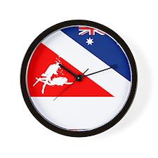 Dive Australia 2 Wall Clock