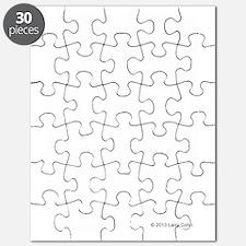 Ketteebell Vitruvian Man - Dark Shirts Puzzle