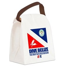Dive Belize Canvas Lunch Bag