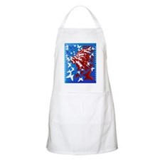 The Butterfly Flag PosterP Apron