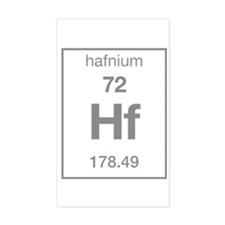 Hafnium Rectangle Decal