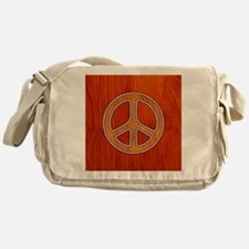 wood-peace-BUT Messenger Bag