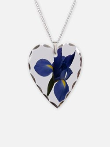 Blue Iris Necklace