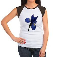Blue Iris Women's Cap Sleeve T-Shirt