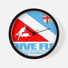 Dive Fiji Wall Clock