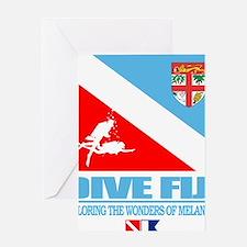 Dive Fiji Greeting Card