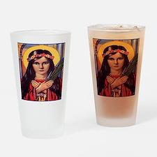 Saint Philomena Drinking Glass
