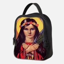 Saint Philomena Neoprene Lunch Bag