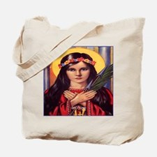 Saint Philomena Tote Bag