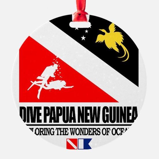 Dive Papua New Guinea Ornament