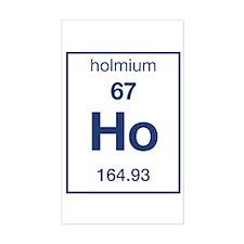Holmium Rectangle Decal