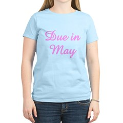 Due In May Pink T-Shirt