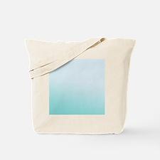 Aqua gradient Tote Bag