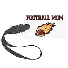 Football Mom Luggage Tag