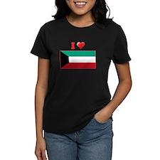 I love Kuwait Flag Tee