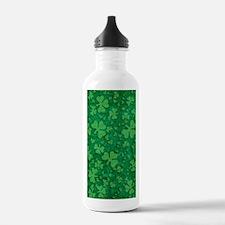 Shamrock Pattern Water Bottle
