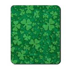 Shamrock Pattern Mousepad