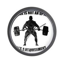 Failure Is Not An Option It's A Require Wall Clock