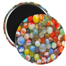 Colorful Marbles Magnet
