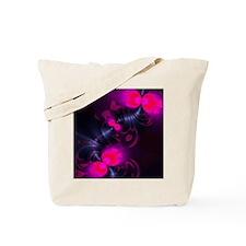 Flower Fairy - Rose and Magenta Ribbons Tote Bag