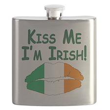 KISS ME IM IRISH! :) Flask