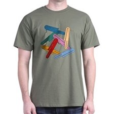 Colorful Contrabassoons - T-Shirt