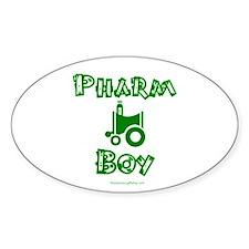 Pharm Boy Oval Decal