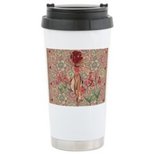 belly dancer area rug Travel Mug