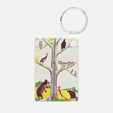 animal tree Keychains