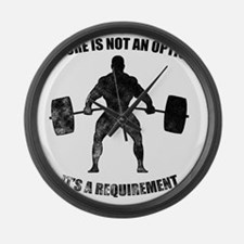 Failure Is Not An Option 3 Large Wall Clock