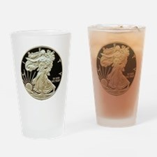 American Eagle 3x3 Drinking Glass