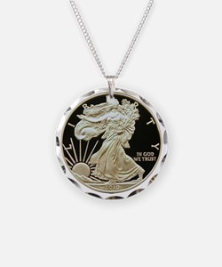 American Eagle 3x3 Necklace