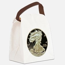 American Eagle 3x3 Canvas Lunch Bag