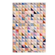 Vintage Triangles Patchwo Postcards (Package of 8)