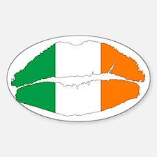 Irish Lips Decal