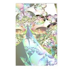 Abstract Fractal Wings of Postcards (Package of 8)